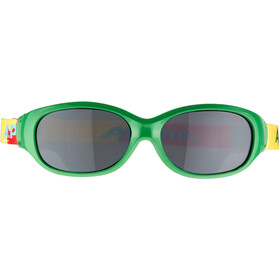 Alpina Sports Flexxy Bril Kinderen, green-puzzle